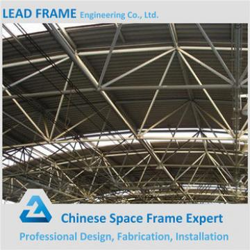 prefabricated steel structure space frame for conference hall