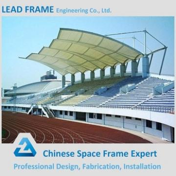 economical space frame roofing for bleacher