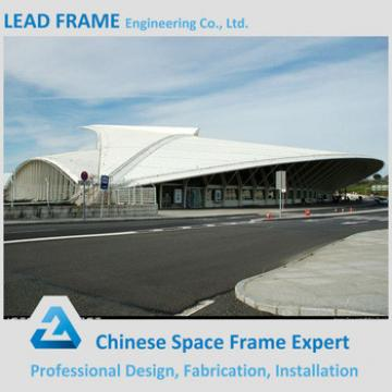 Good appearance space frame stadium roof for sports center