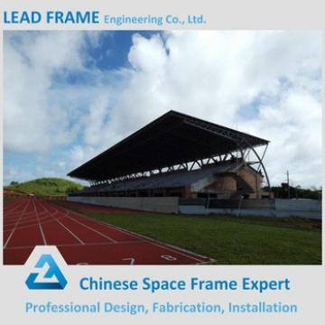 Light Steel Rigid Structure Space Frame Truss For Stadium Bleacher