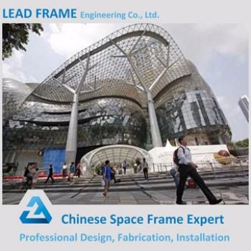 Pre Fab Customized Light Steel Structure Shopping Mall