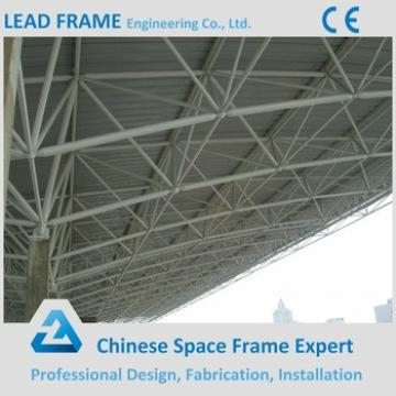 High Quality Space Frame Truss With Steel Roofing Cover