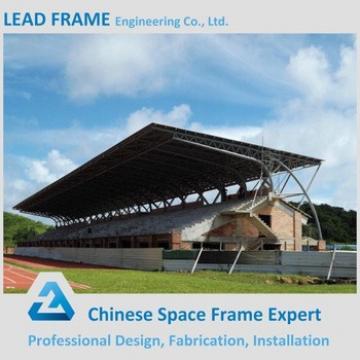 Long Span Prefab Stadium Bleacher Light Steel Roof Truss