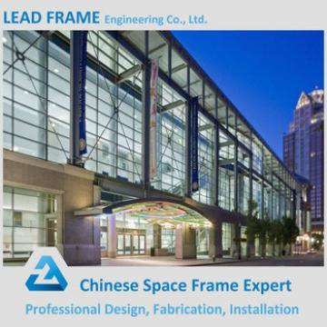 Xuzhou LF Steel Space Frame Long Span Roof Prefabricated Hall