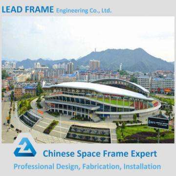 Lightweight steel structure stadium bleachers for sport hall