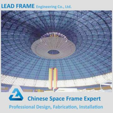 Prefab space frame steel hall