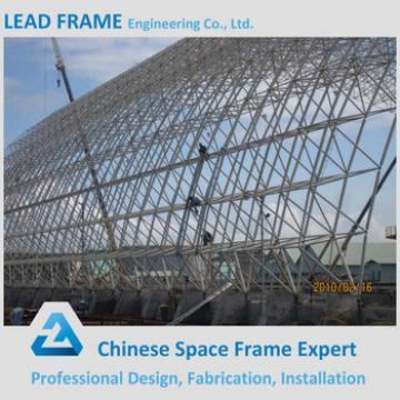 Lightweight Galvanized Space Truss for Bleacher Roof