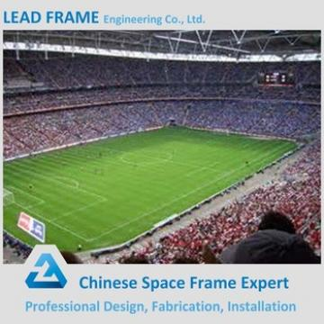 High quality prefabricated curved roof stadium