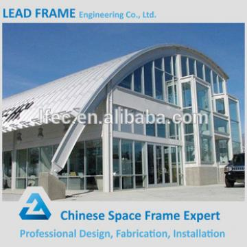 Conference hall roof system steel space frame from China