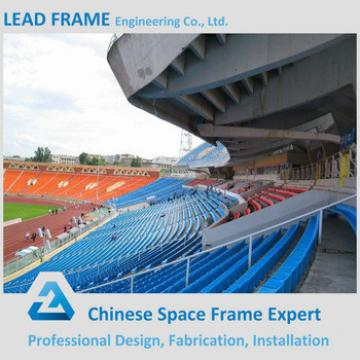 Light Weight Q235/Q345 Steel Structure Prefabricated Stadium