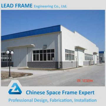 Light weight structral steel prefabricated shed