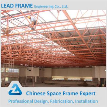Thermal Insulation Space Frame Prefabricated Steel Building