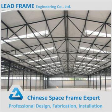 large span prefabricated high rise turnkey steel structure workshop design