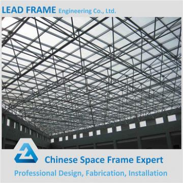 Coloured Steel Truss Structure Steel Structure Building