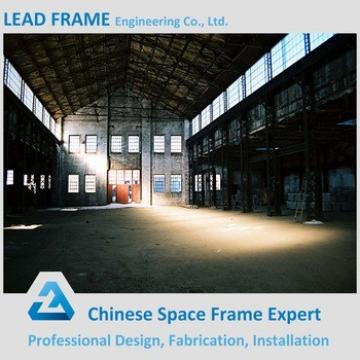 Easy Assembly prefabricated steel structure construction Arch Steel Building