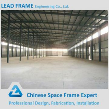 Wide Span Economic Light Frame Structure Factory Building for Sale