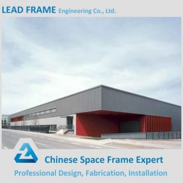 Long Span Columnless Steel Structure Warehouse Roofing Material