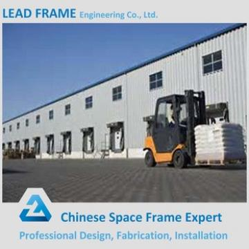 Prefab corrugated steel structure storage warehouse for factory
