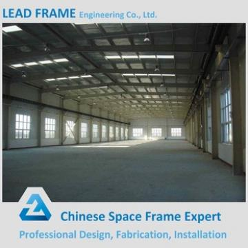 Waterproof light weight steel structure warehouse