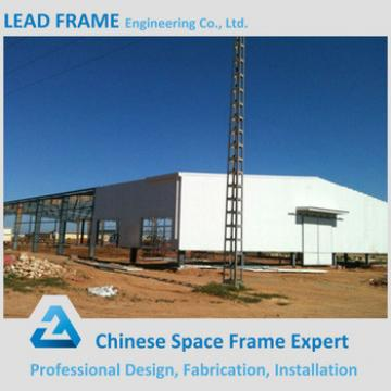large span steel structure space frame for warehouse