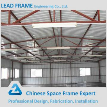 Arched light weight steel structure roof