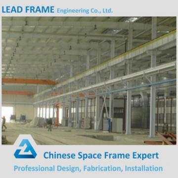 Space Frame Structure Light Steel Frame Warehouse With Crane