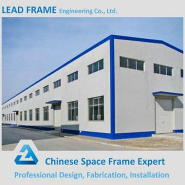 Arched space frame factory steel structure drawing