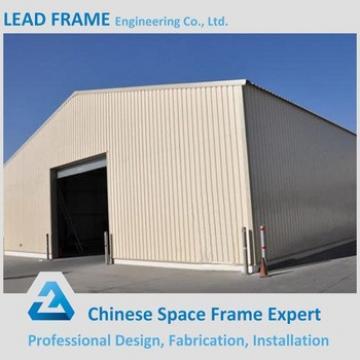 Light steel construction prefab steel structure warehouse