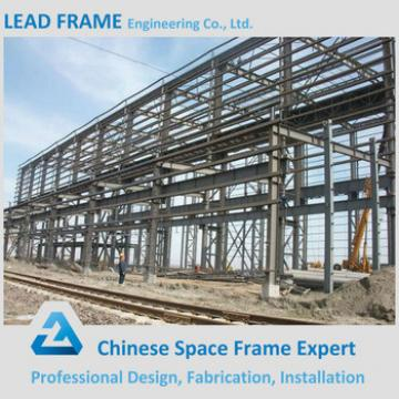 Arched steel structure for metal building