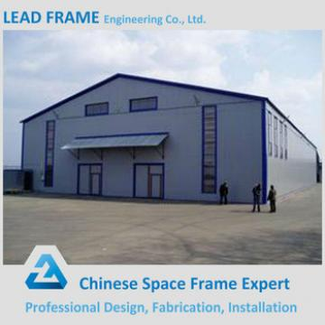 Low cost steel space grid frame structure for factory storage