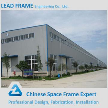 easy quick assemble prefabricated iron structure building workshop