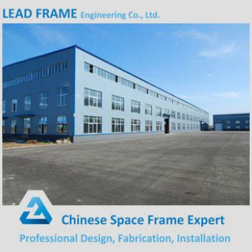 Galvanized Truss Steel Factory Building Design