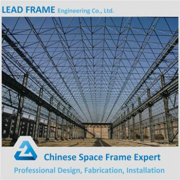 Economical steel arch truss roof for building