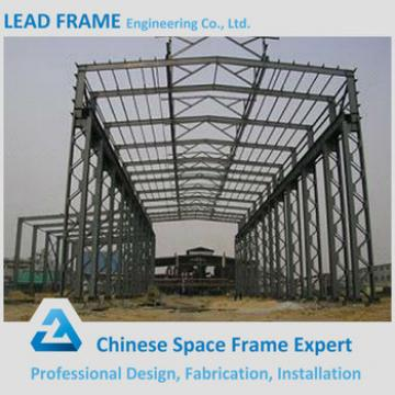 Galvanized light steel structure with roof cover