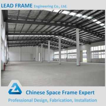 Fabricated Steel Metal Warehouse with Light Frame Roofing