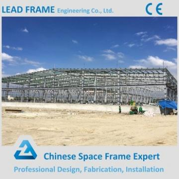 warehouse shed solar space frame steel structure