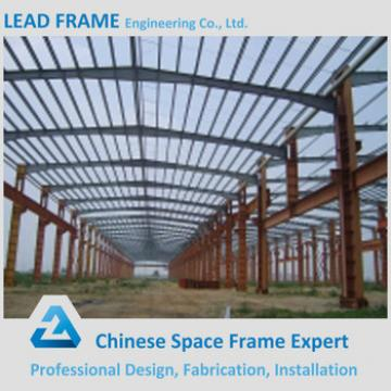 flexible customized design steel structure space frame for warehouse
