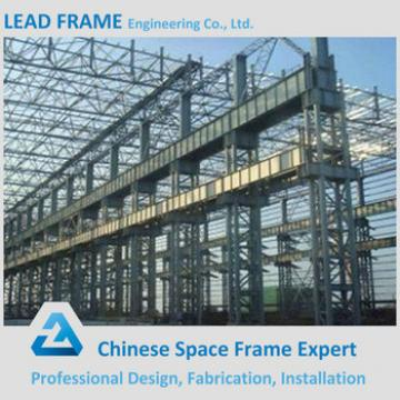 Long span prefabricated steel structure building from China