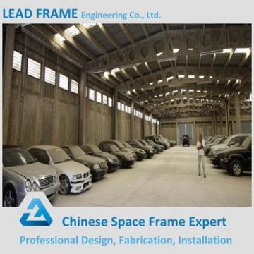 galvanized prefabricated two story steel structure warehouse