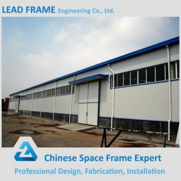 Long span fabricated light structural steel workshop for sale