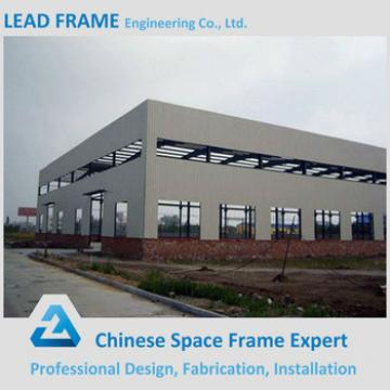 Low cost prefabricated steel factory building construction