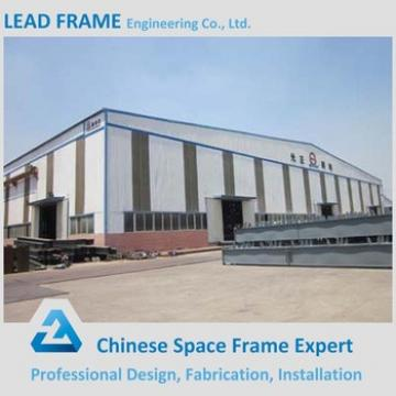 Steel frame structure roof truss construction design for warehouse