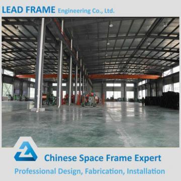 Long Span Lightweight Prefab Steel Frame Workshop for Sale