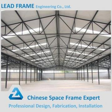 Easy to Install Construction Steel Building with Large Span Roofing