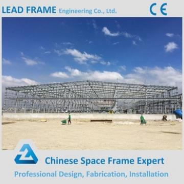 Bolt Ball Jointed Space Frame Prefabricated Steel Building