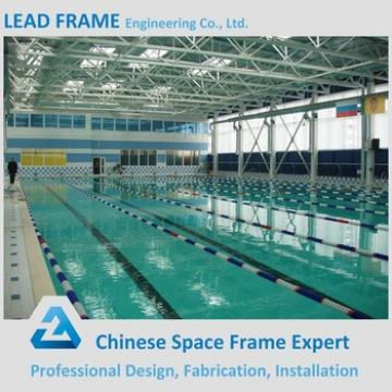 Professional Design Space Structure Cover Steel Frame Pool