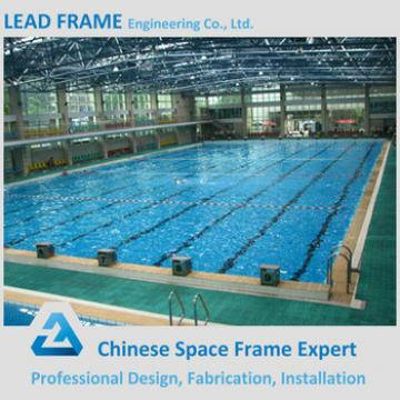 Low Price Bolt Ball Space Grid Structure Steel Frame Pool