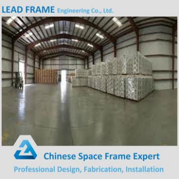 low cost prefabricated dome roof steel structure warehouse