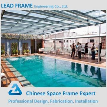 Professional Design cheap canopy roof of swimming pool
