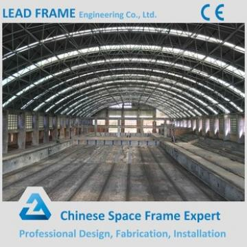 high design standard prefab steel truss space frame for swimming pool